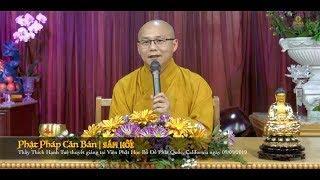 Phật Học Phổ Thông | Sám Hối