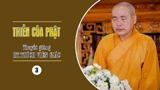 Thiền Của Phật (3)