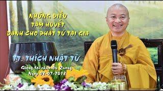 Những điều tâm huyết dành cho Phật tử