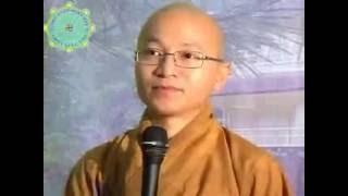 Kinh Trung Bộ 046: Hành xử khổ vui A (01/10/2006) video do Thích Nhật Từ giảng