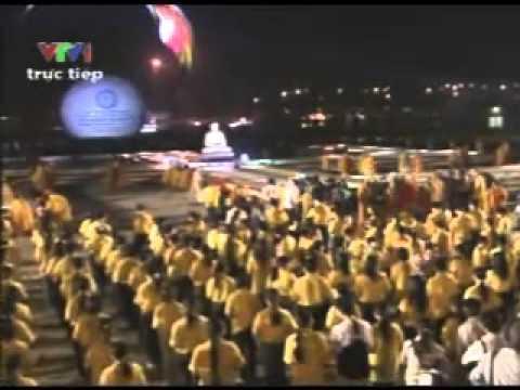 Thắp nến cầu nguyện hòa bình thế giới nhân Đại lễ Phật đản LHQ 2008