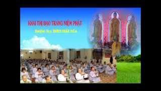 Khai Thị Đạo Tràng Niệm Phật