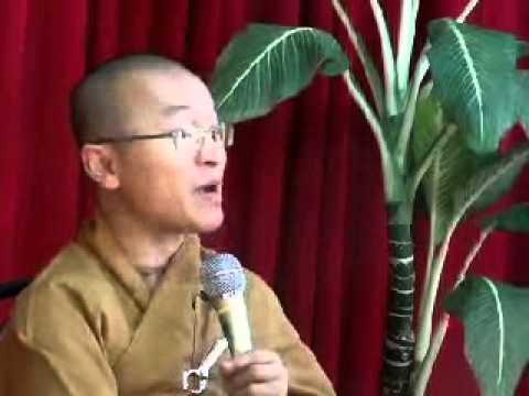 Trợ niệm lâm chung B (23/03/2007) video do Thích Nhật Từ giảng
