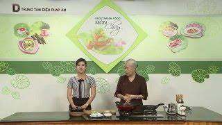 Món chay 73 - Bắp chuối kho tiêu