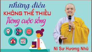 NHỮNG ĐIỀU KHÔNG THỂ THIẾU TRONG CUỘC SỐNG || Ni Sư Hương Nhũ || Thiên Quang Media