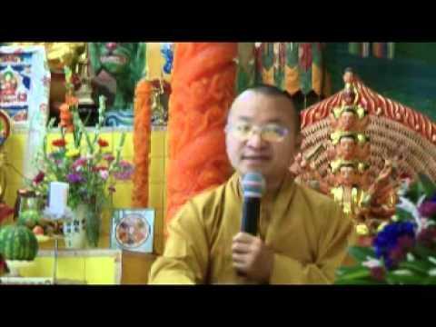 Tỳ ni nhật dụng 04: Ăn cơm trong chánh niệm (23/06/2011) video do Thích Nhật Từ giảng