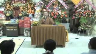 Ơn Thầy Nghĩa Đạo (10/09/2007) video do Thích Nhật Từ giảng