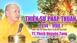 254  TT Thích Nguyên Tạng, Thiền Sư Pháp Thuận