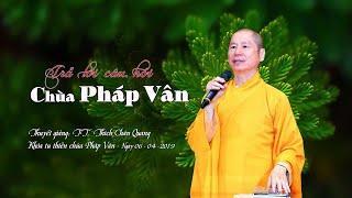 Tham Vấn Khóa Thiền Pháp Vân -06-04-2019