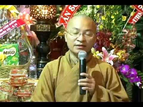 Bốn trọng ân (30/08/2008) video do Thích Nhật Từ giảng