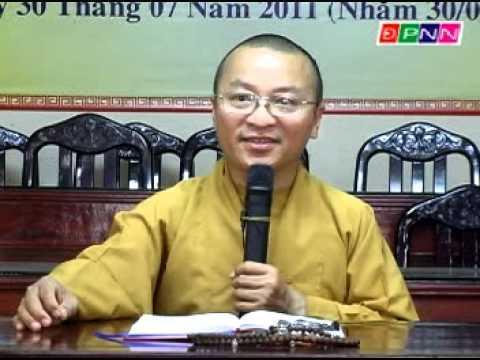 Mông Sơn Thí Thực: Ý nghĩa cúng cô hồn và cầu siêu (07/08/2011) video do Thích Nhật Từ giảng