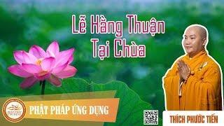 Lễ hằng thuận trong Phật giáo Việt Nam