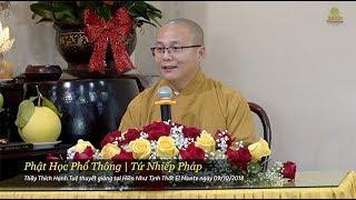 Phật Học Phổ Thông - Tứ Nhiếp Pháp