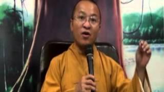 Kinh Di Giáo 04: Làm chủ sân hận (01/04/2012) video do Thích Nhật Từ giảng
