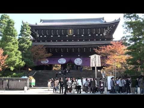 Cảnh chùa Chion-in - Kyoto - Nhật Bản