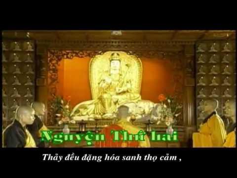 """Tụng """"48 Lời Nguyện Của Đức Phật A Di Đà"""" (Bản Hán Văn)"""