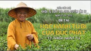 Học hạnh từ bi của đức Phật