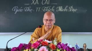 Tọa Thiền Chỉ Quán Phần 7 (Xả Cái) - TT. Thích Minh Đạo