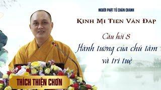 Kinh Mi Tiên - Câu 8: Hành tướng của chú tâm và trí tuệ