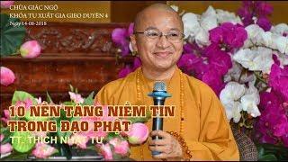 Mười nền tảng niềm tin trong đạo Phật