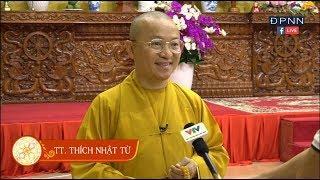 TT. Thích Nhật Từ trả lời phỏng vấn Đài truyền hình Việt Nam 03-2018