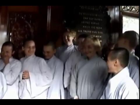 HT. Thích Thanh Từ về thăm thiền viện Thường Chiếu - P2/2