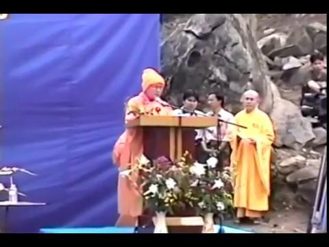 Lễ đặt đá xây dựng thiền viện Tây Thiên