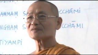 Học Kinh Tụng Pāli (Quy Y Tam Bảo - Tán Dương Phật)