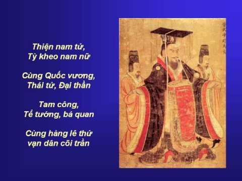 KINH VU LAN - Chương 6B/13 : Chánh Kinh - Võ Tá Hân phổ nhạc