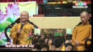 Vấn đáp: Tâm bất biến, ngày tận thế, sinh con đơn thân (13/06/2012) video do Thích Nhật Từ giảng