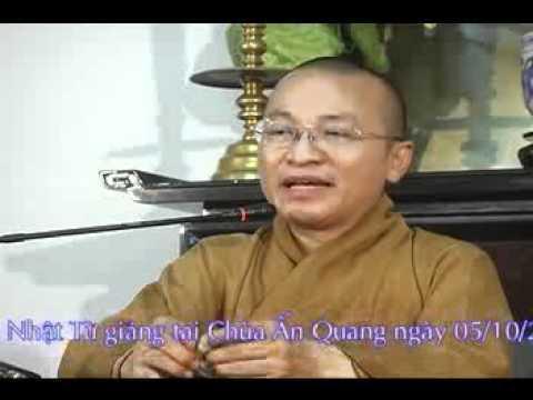 Chinh Phục Ma Quân (05/10/2008) video do Thích Nhật Từ giảng