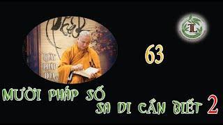 Từng Giọt Sữa Thơm 63 - Thầy Thích Pháp Hòa(Tv Trúc Lâm, Ngày 16.09.2020)