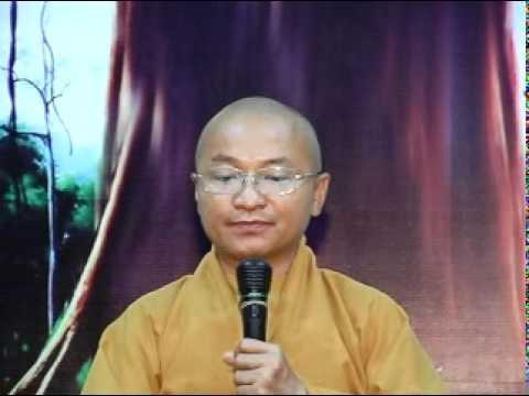 Kinh Pháp Cú 18: Gột rửa bợn nhơ của tâm (03/04/2011) video do Thích Nhật Từ giảng