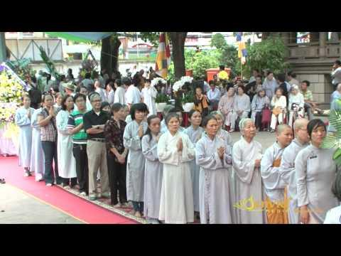 SEN VIỆT Video 3: Lễ viếng Giác linh của Hòa Thượng Thích Minh Châu