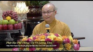 Thích Hạnh Tuệ | Phật Học Phổ Thông - Tứ Vô Lượng Tâm