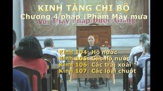 Kinh Tăng Chi | Chương 4 pháp | Phẩm Mây mưa | Kinh 104-107 Hồ nước