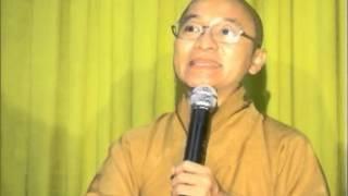 Kinh Trung Bộ 101: Đối thoại về nghiệp (25/05/2008) video do Thích Nhật Từ giảng