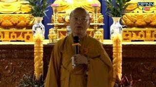 TT. Thích Nhật Từ hướng dẫn thiền Vipassana sau thời tụng kinh sáng Ngày 01-06-2018