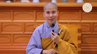 SC. Giác Lệ Hiếu dạy về giáo lý căn bản nhất của đạo Phật