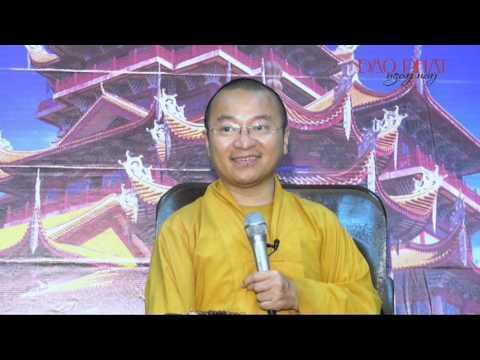 Vấn đáp: Hiếu hạnh của người xuất gia( 28-11-2013) do Thích Nhật Từ giảng