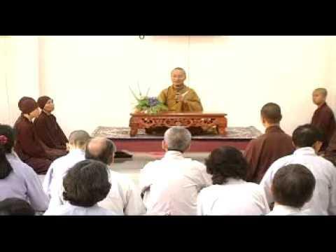 Thanh Niên Phụng Sự Xã Hội - phần 4/4 (15/05/2009) video do Thích Nhật Từ giảng
