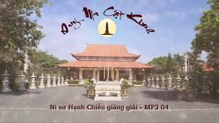 04 -Kinh Duy Ma Cật- Ni sư Hạnh Chiếu