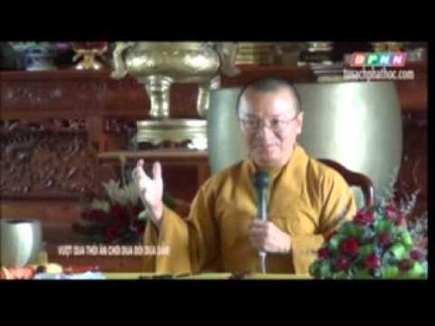 Vượt qua thói ăn chơi, đua đòi và dựa dẫm (11/06/2012) video do Thích Nhật Từ giảng
