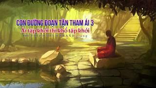 Con Đường Đoạn Tận Tham Ái 3 -  Ái Tập Khởi Thì Khổ Tập Khởi - ĐĐ.Thích Minh Thành