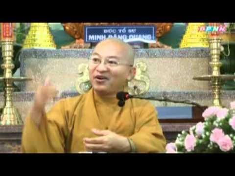 Để lễ quy y có giá trị trọn đời (26/07/2011) video do Thích Nhật Từ giảng