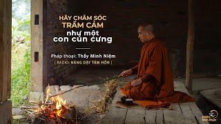 Thầy Minh Niệm | Hãy chăm sóc trầm cảm như một con cún cưng | Trích Radio: Nâng dậy tâm hồn