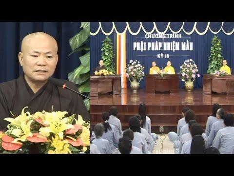 Vì sao thầy Trung Đạo xuất thân từ Thiên Chúa Giáo mà chuyển sang Phật Giáo
