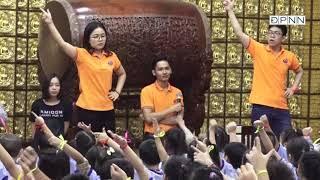 """Phật tử nhí chùa Giác Ngộ múa đồng diễn """"Nhịp Vui Khánh Đản"""" chào mừng Đại lễ Vesak LHQ 2019"""