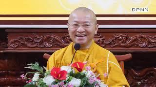 TT. Thích Nhật Từ thuyết giảng trong khóa tu An Lạc tại chùa Giác Ngộ ngày 04-04-2021
