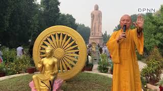 Chùa Thái Lan, với tượng đài Phật cao 80 feet, Vườn Nai, ngày 07-11-2019.